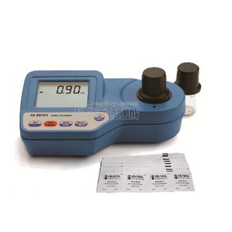 哈纳 HI96701便携式余氯浓度检测仪 0.03mg/L
