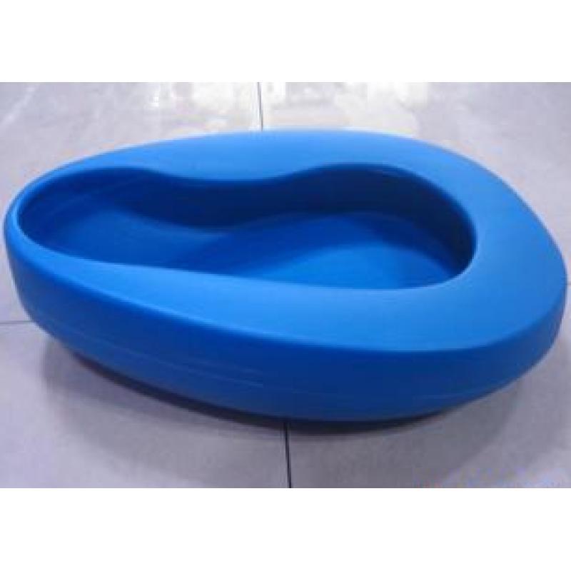 医用PE吹塑蓝便盆34cm*26.5cm