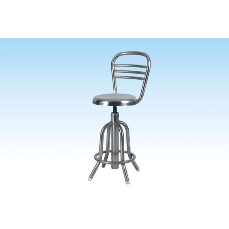 新塔康 XTK-05402靠背不锈钢手术圆凳