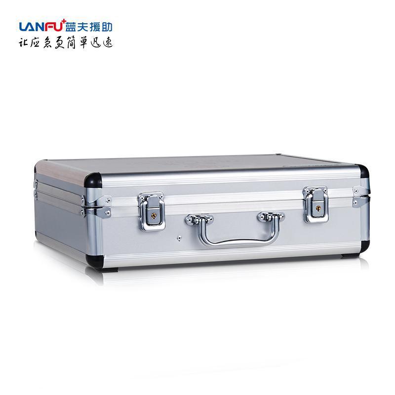 蓝夫铝合药急救箱便携药箱