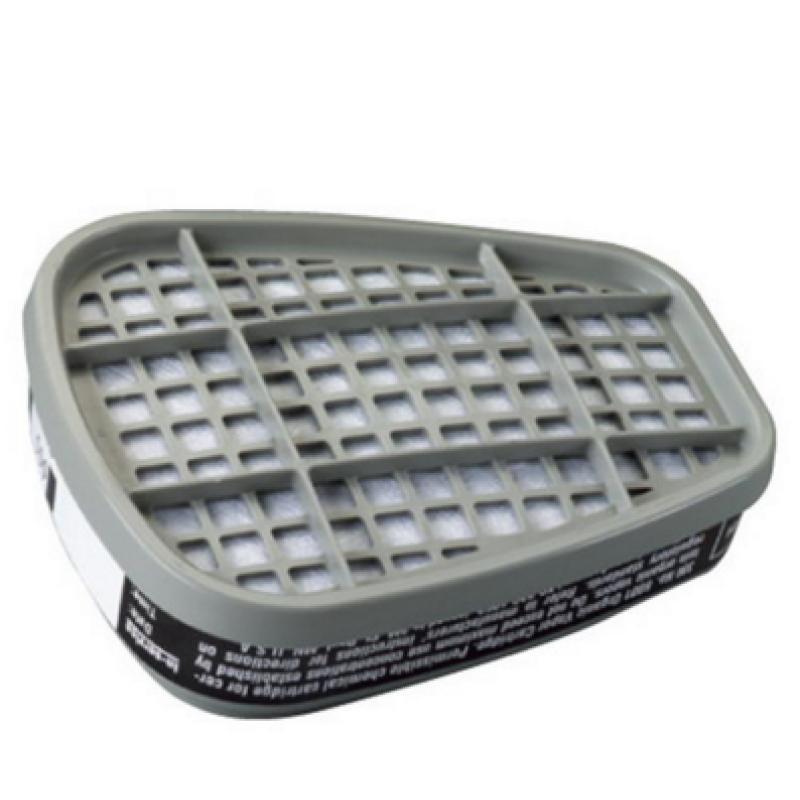 防毒面罩防毒面罩滤毒盒(6000系列用・7500系列用)FILTER CARTRIDGE FOR GAS防毒マスク吸収缶