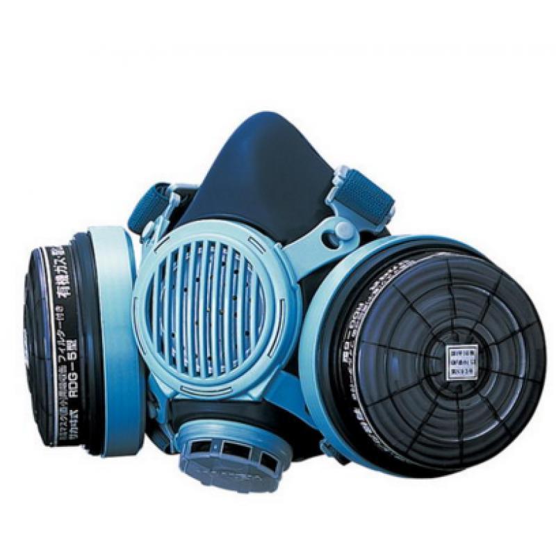 防毒面罩防毒囗罩(气体浓度0.1%以下)RESPIRATOR防毒マスク