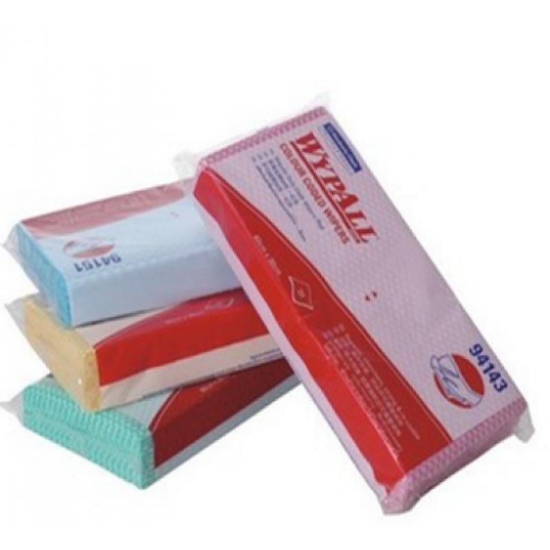 抹布WYPALL* 标准型彩色清洁擦拭布