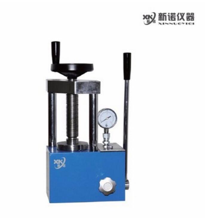 新诺 SYP-60EF型手动粉末压片机  60吨粉末压片机