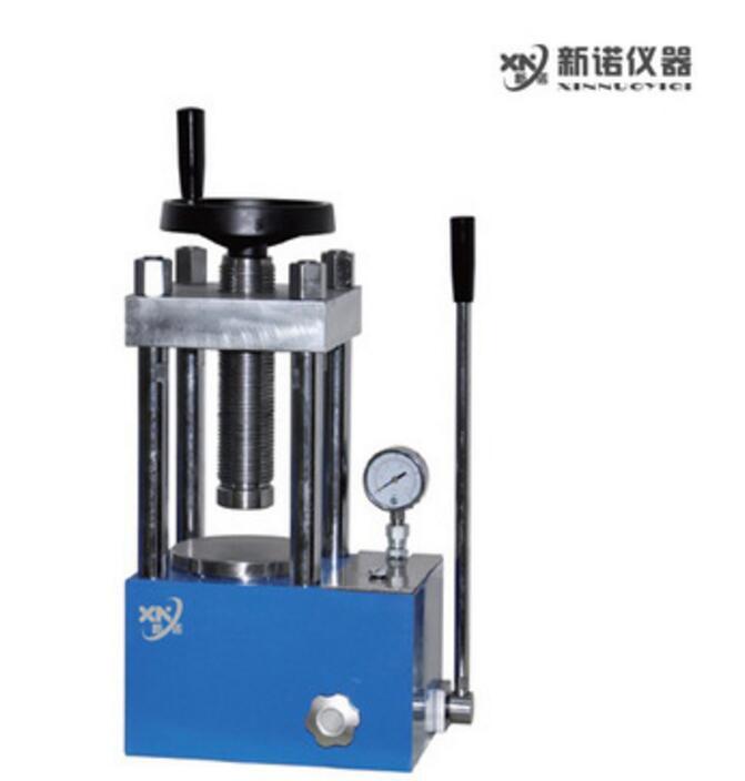 新诺 SYP-40C型手动压片机  小型油压机 40吨粉末压片机 实验室压片机