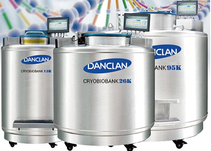 [DANCLAN]Cryobiobank 不锈钢气相液氮罐