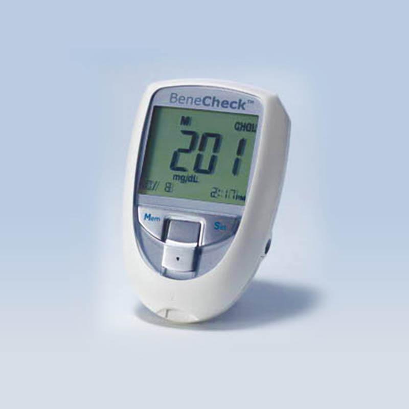 百捷血糖尿酸总胆固醇监测系统