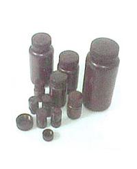 嘉迪 15ml广口塑料瓶(棕色)