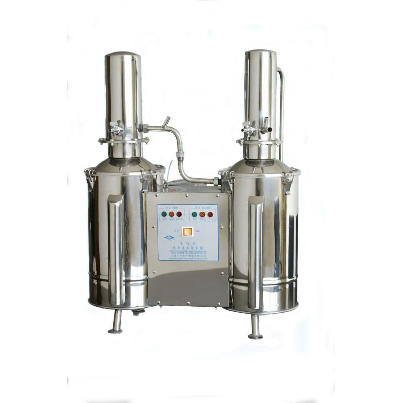 三申DZ10C不锈钢电热蒸馏水器 双重蒸馏