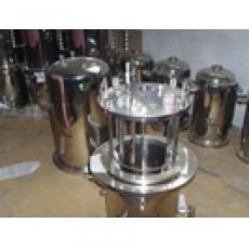 10L不锈钢、硼硅玻璃组合系列发酵罐