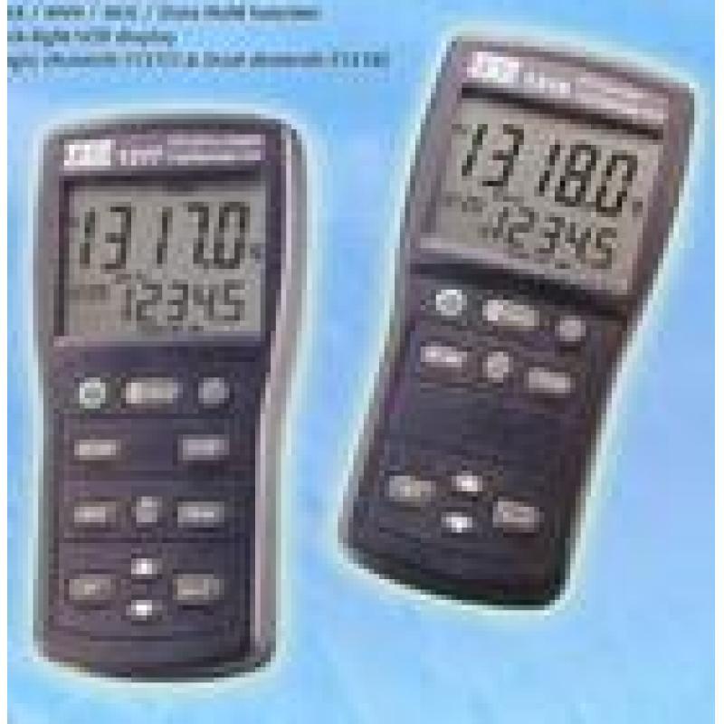 TES-1317白金电阻温度表(温度计)