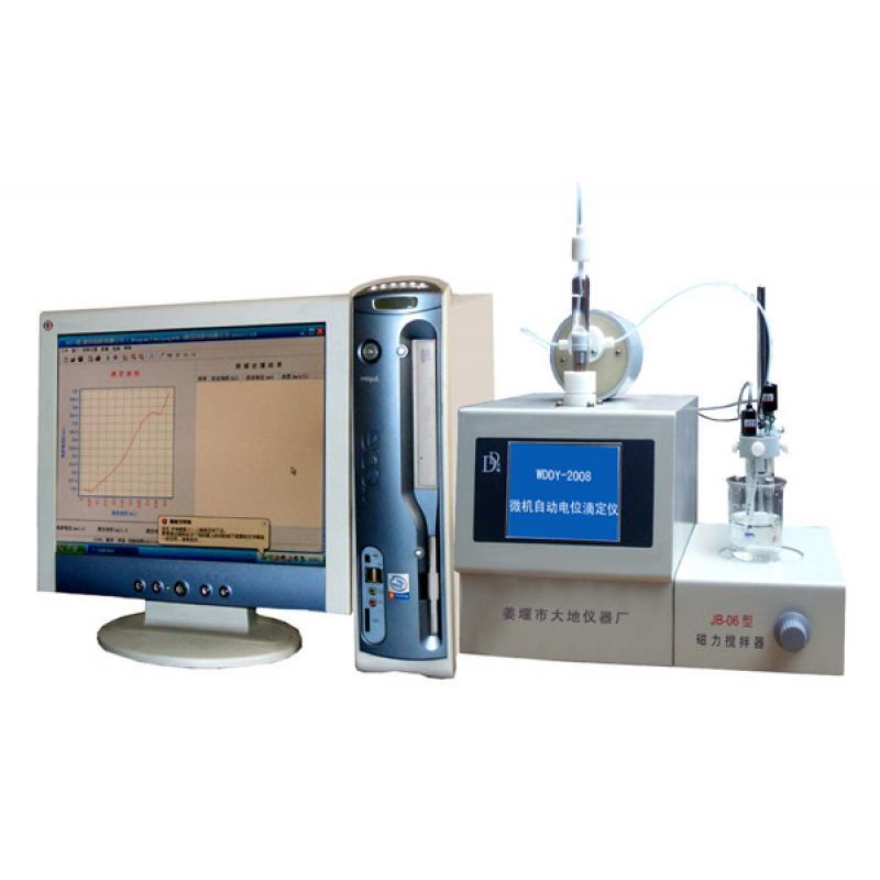 WDDY-2008型微机自动电位滴定仪