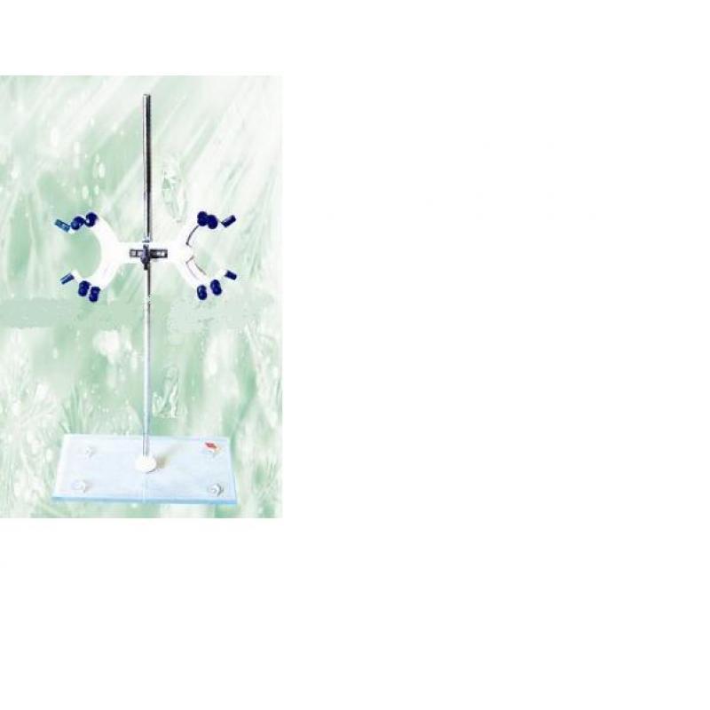 玻璃面滴定台(配塑料蝶式夹)