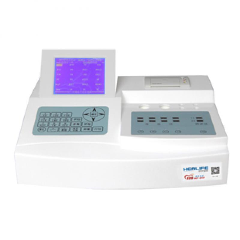 海力孚HF6000-2 半自动双通道凝血分析仪