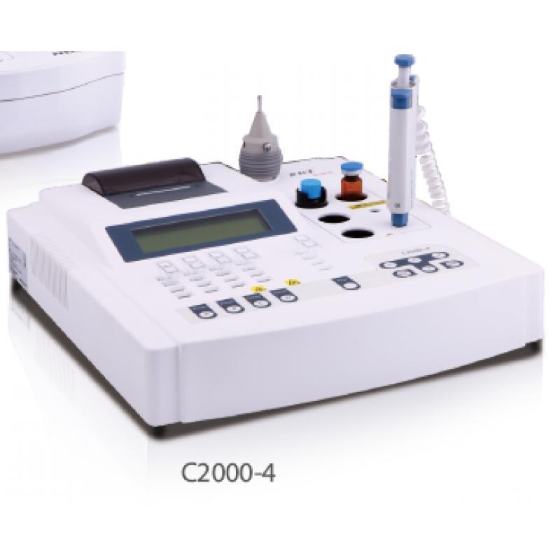 普利生C2000-4 半自动四通道血凝仪