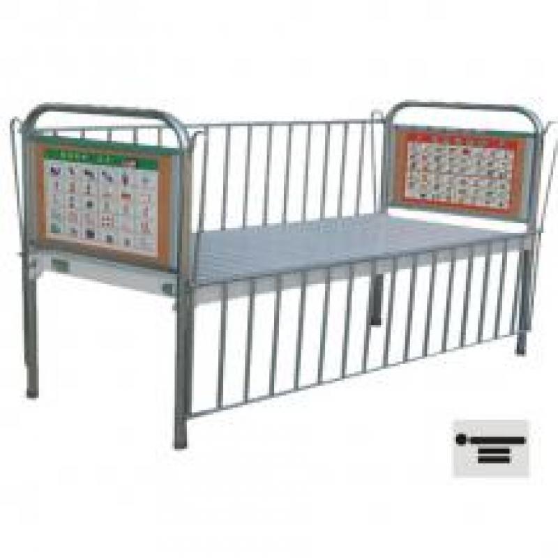 AH09喷塑儿童床
