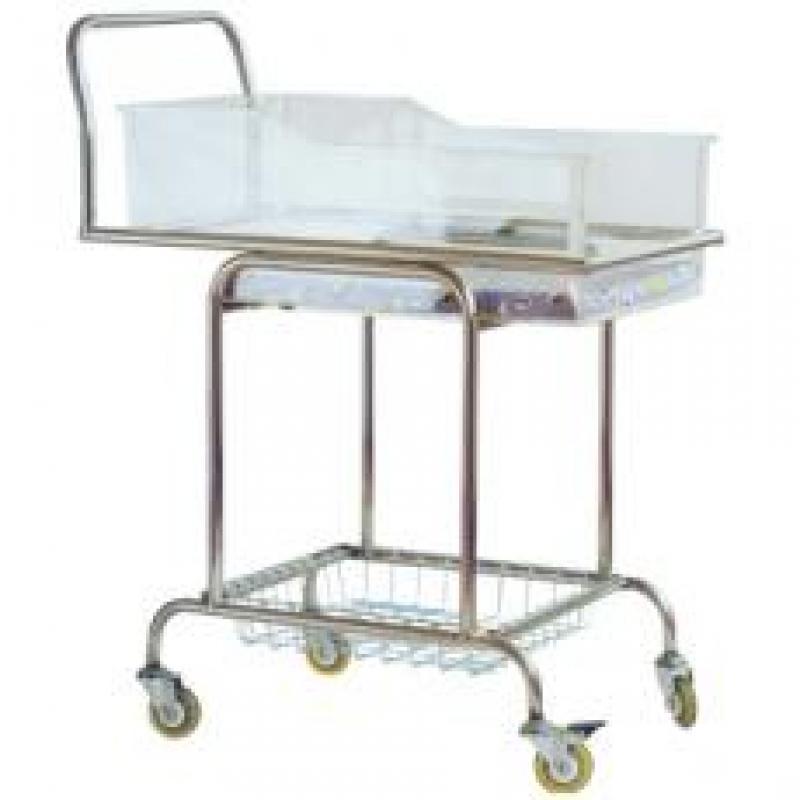 AH02不锈钢婴儿床