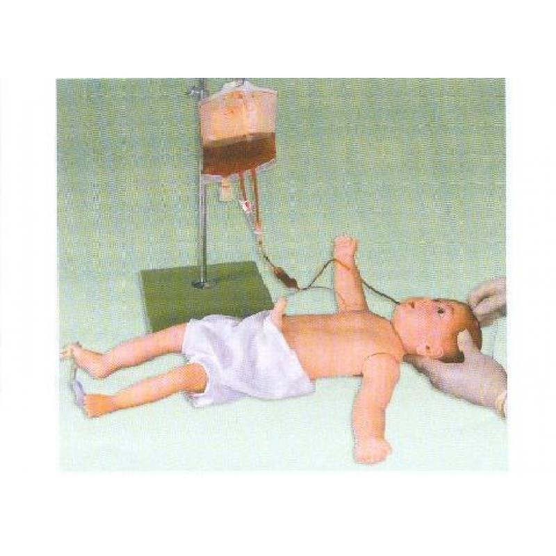 婴儿全身静脉穿刺模型