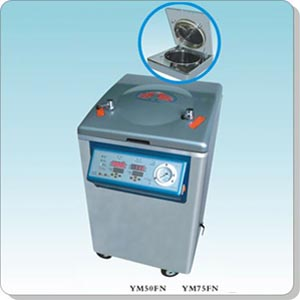 上海三申YM75FN立式压力蒸汽灭菌器
