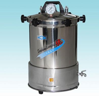 上海三申YX-280A手提式灭菌器(坐式电热)