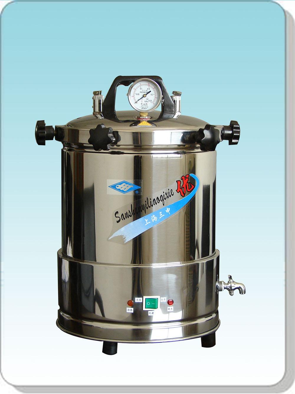上海三申YX-280A*手提式灭菌器(坐式电热)