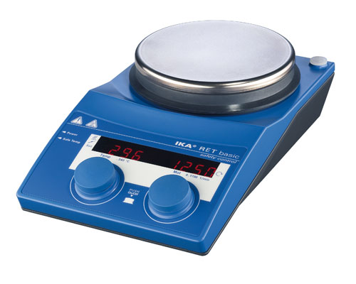 单点-加热磁力搅拌器(不锈钢, 安全温度控制)