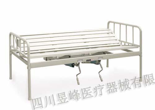 YC-019T手动双摇翻身病床Manually dual-r