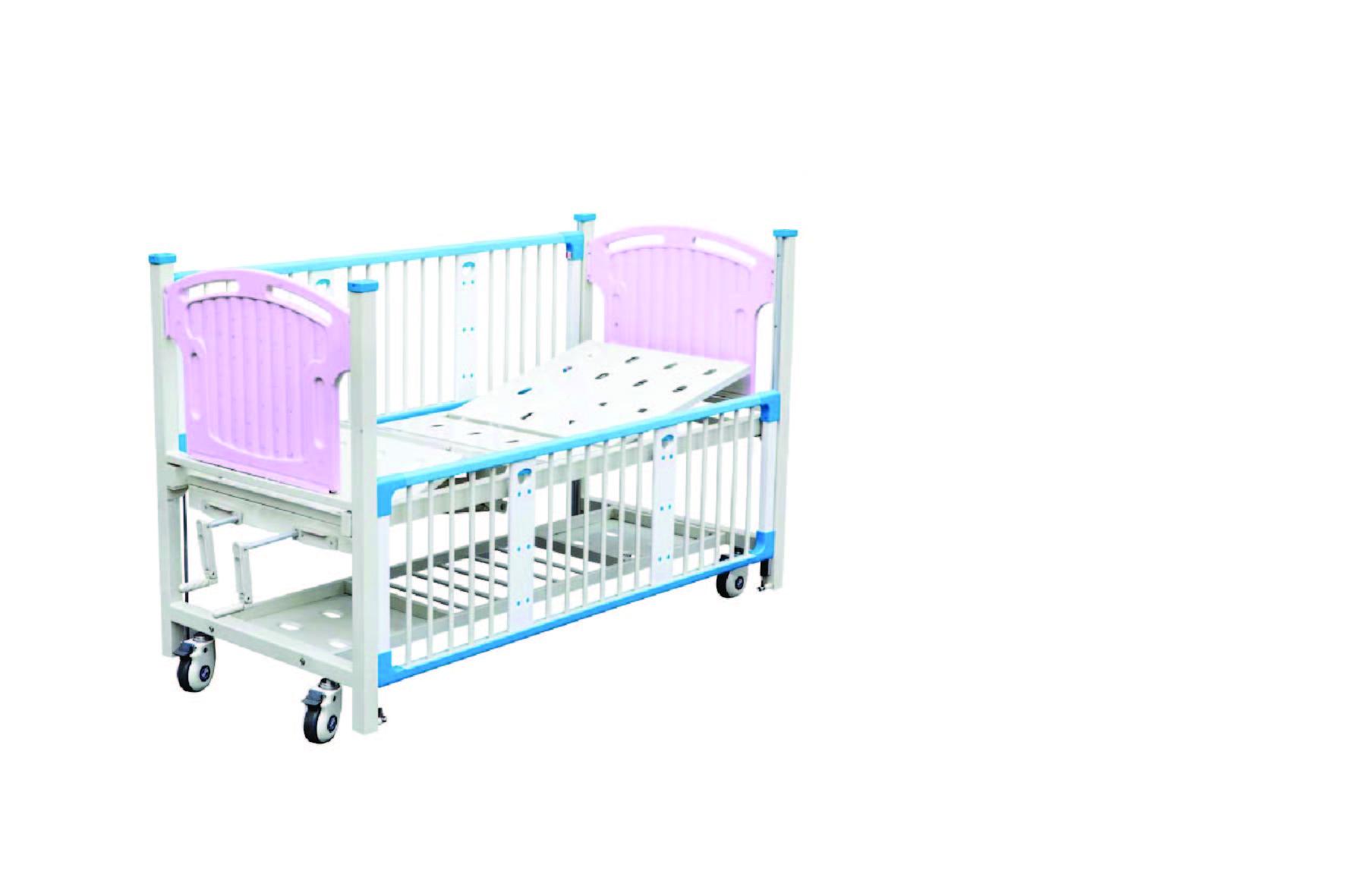 RSE12-D 双摇手儿童病床