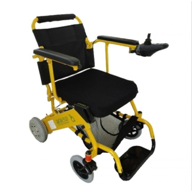 平方 D07电动轮椅车 锂电池节能超便携