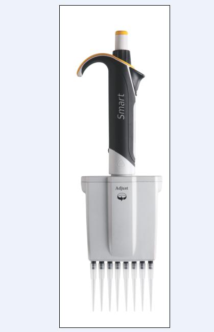 艾斯玛特 8道手动可调移液器 2-20ul
