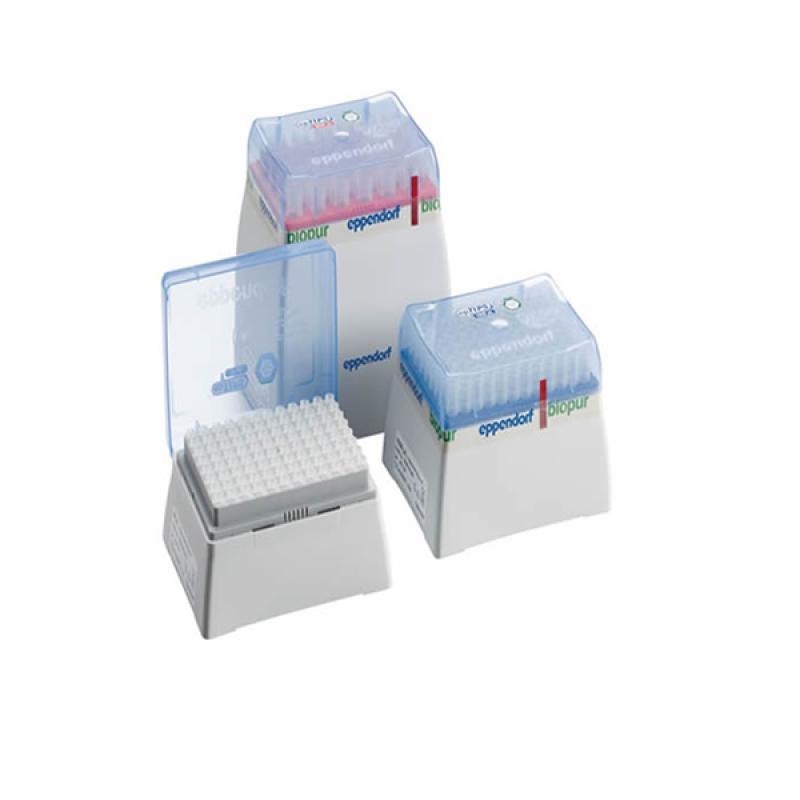 艾本德 Eppendorf 0.1-10ul精致吸头盒 内含96支原装吸头 吸头盒可重复利用