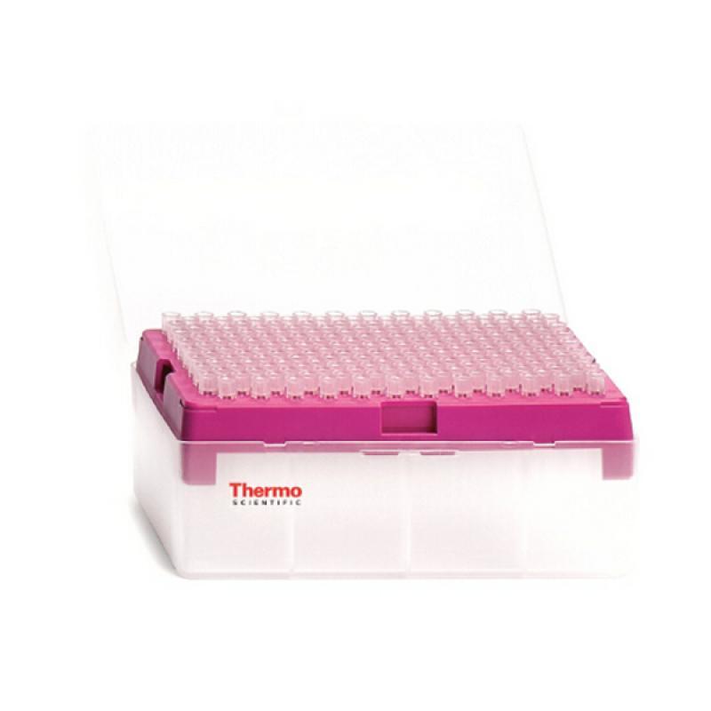 Thermo 200ul吸头盒 内含96支原装吸头 吸头盒可重复利用