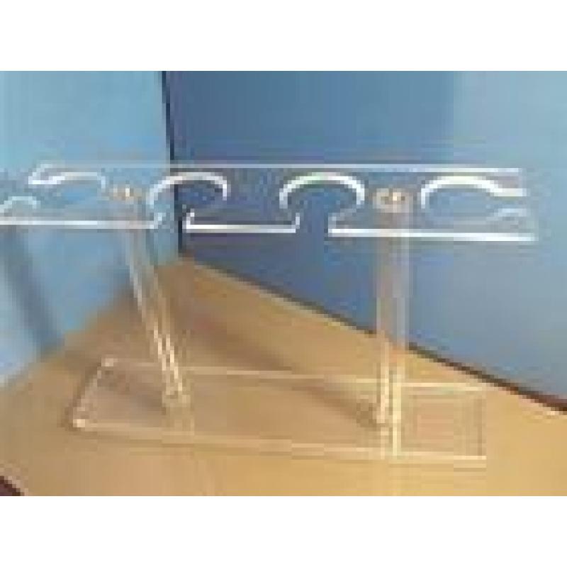 500ml分液漏斗架(有机玻璃) 6孔