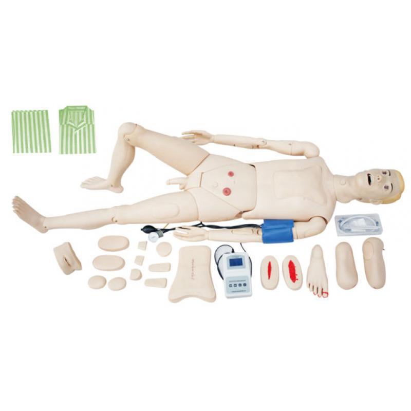KAS-128全功能护理人模型(带血压测量)