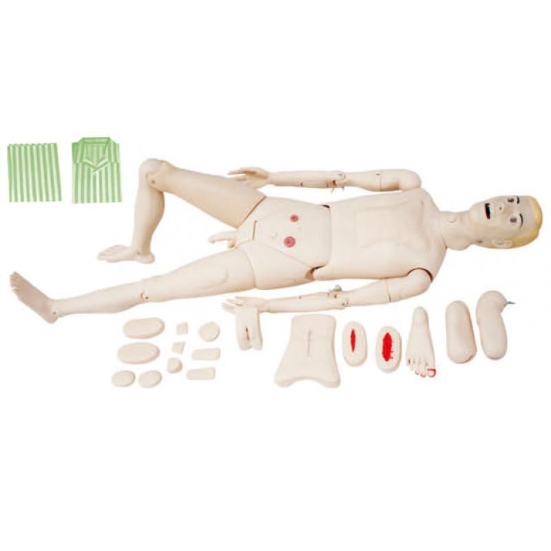 KAS-122A全功能护理训练模拟人(男性)