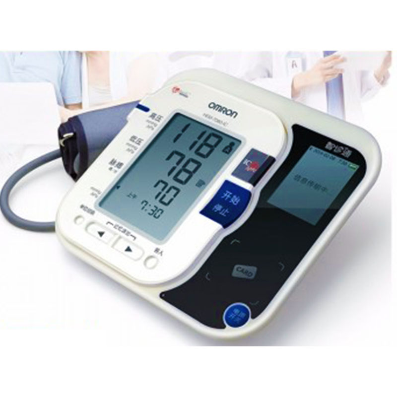 欧姆龙智能电子血压计HEM-7080 IC 智诊通欧姆龙血压计