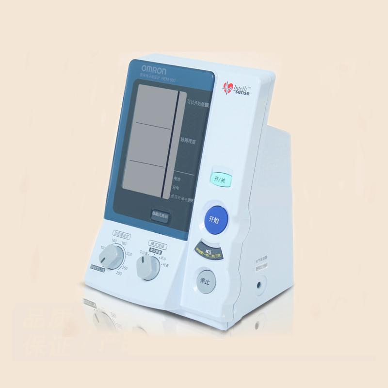 欧姆龙HEM-907 全自动医用电子血压计欧姆龙血压计