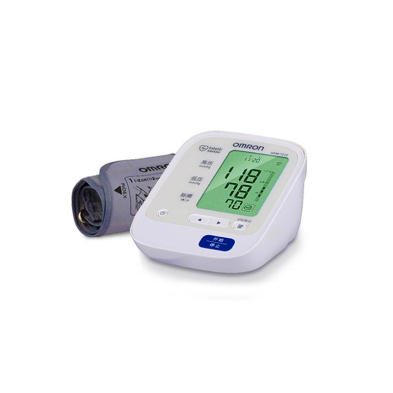 欧姆龙电子血压计HEM-7210 全自动智能上臂式家用血压测
