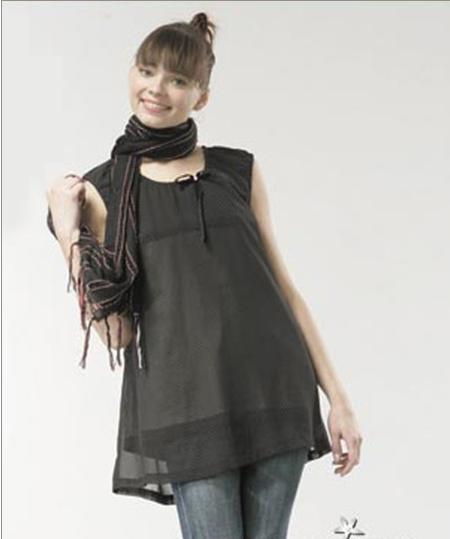 FDB/88099添香银纤维电磁波防护脱卸圆领衫