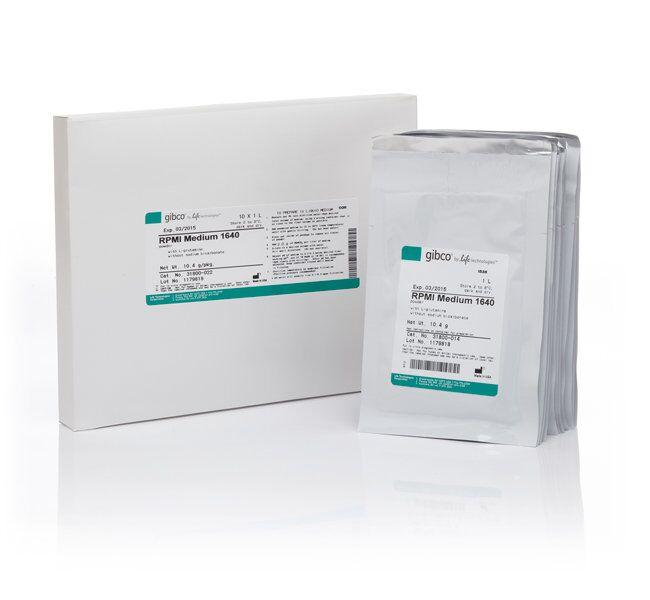 GIBCO RPMI-1640培养基(货号31800022)10 x 1 L