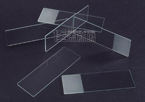 国产7105单头单面磨砂边载玻片 50片/盒 磨砂盖玻片