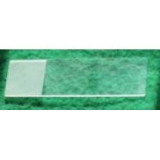 国产7105-1单头单面磨砂毛边载玻片 50片/盒 国产单面