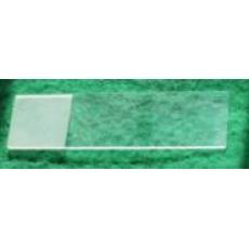 国产7107单头双面磨砂磨砂边载玻片 50片/盒 显微镜载玻