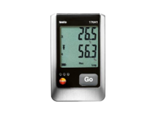 德图 176H1外置四通道温湿度记录仪(NTC/电容式湿度传感器)精度 0.2度