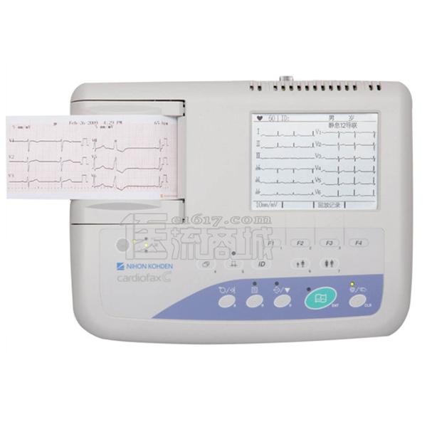 日本光电 ECG-1150三道4.8寸液晶显示自动分析心电图机