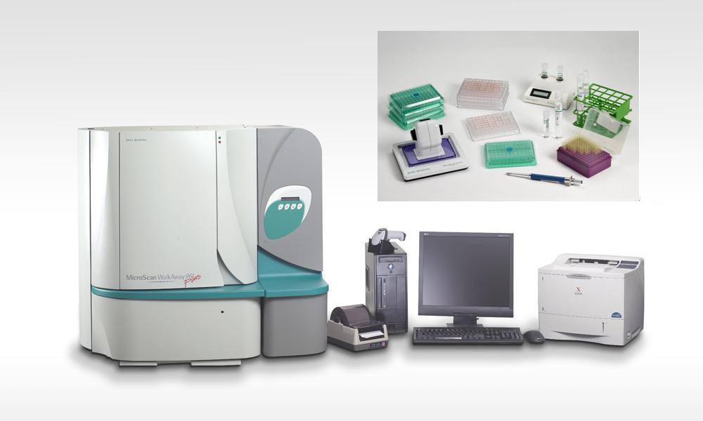 MicroScan® WalkAway 96 Plus全自动细菌鉴定/药敏分析仪