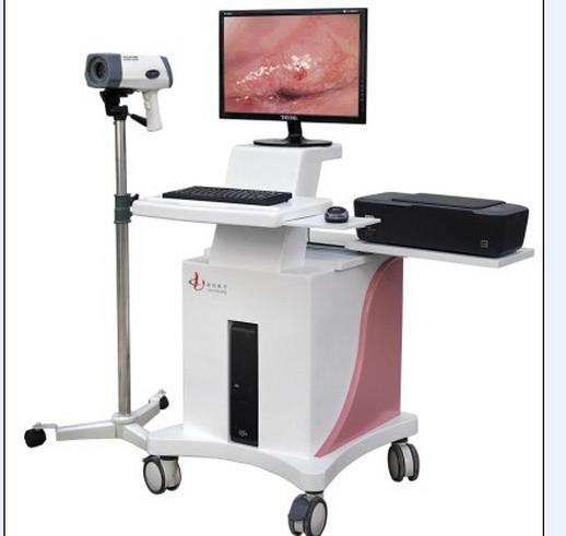 联创LC-9100C推车数码电子阴道镜80万像素
